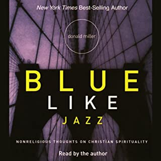 Blue Like Jazz audiobook cover art