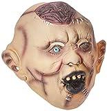SMIFFYS Smiffy's Maschera Autopsia Zombie, Copritesta, Lattice Uomo, Colour carne, 21956