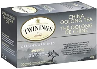 Twinings China Oolong Tea, Tea Bags, 20-Count Boxes (Pack of 6) ( Value Bulk Multi-pack)