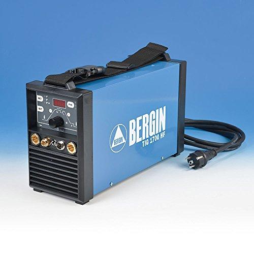 Bergin WIG und Elektroden Schweißinverter Set TIG 1700 HF