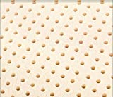 USA Queen Original Talalay Latex Mattress Pad Toppers: US Made 2', 3', Many Densities (3' Thick, 14 ILD Soft)