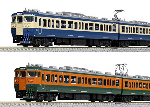 KATO Nゲージ しなの鉄道 115系 湘南色/横須賀色 6両セット 【特別企画品】 10-1572 鉄道模型 電車