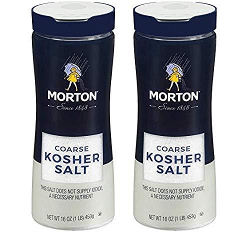 Morton Coarse Kosher Salt 16 oz. (Тwо Расk)
