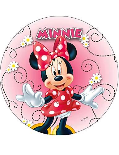 Generique - Disque en Azyme Minnie modèle aléatoire 20 cm