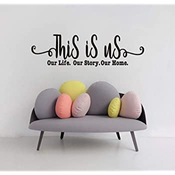 Family Wall Decal Sitcker Vinyl Quotes Wall Art Lettering Sayings Home Décor Art