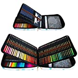 72 Lápices acuarelables, 24 Rotuladores Doble Punta Acuarelables y 12 Lápices de dibujo y accesorios y Lapices colores, Perfectos para artistas principiantes adultos dibujando, coloreando