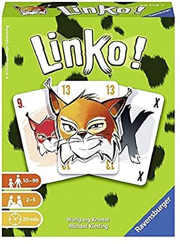 Ravensburger–20778–Kartenspiel–Linko (ev.Nicht in Deutscher Sprache)