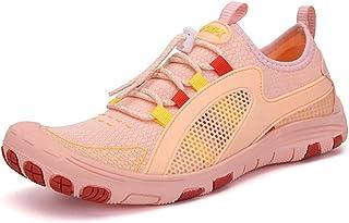 أحذية Oauskatan للرجال والنساء أحذية المياه خفيفة الوزن المشي المشي أحذية الشاطئ ركوب الأمواج أكوا, زهري, 37 EU