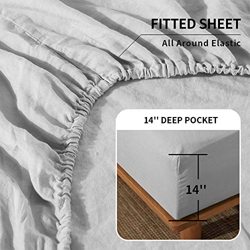 King Linens Simple Fitted Sheet