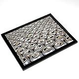 INDIGOS Vinilo Decorativo para Pared MD475 Caja de Reciclaje para el Medio Ambiente 40 x 37 cm Multicolor 40x37x8 cm