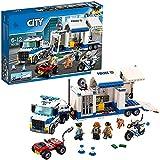 WOMEN 60139 City Centro de Control Móvil, Juguete de Construcción con Camión, Coche, Moto y Mini Figuras para Niños +6 años
