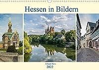 Hessen in Bildern (Wandkalender 2022 DIN A3 quer): Professionelle Fotos geben einen Einblick in traumhafte Landschaften mit historischen Gebaeuden von Hessen (Monatskalender, 14 Seiten )