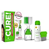 Lice Treatment Kit by Lice Clinics-Guaranteed to Cure Lice, Even Super Lice-Safe, Non-Toxic, Pesticide-Free (Complete...