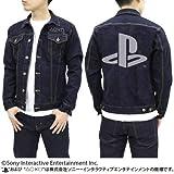 """プレイステーション ジージャン """"PlayStation"""" インディゴ Mサイズ"""