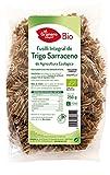 PASTA FUSILLI de trigo sarraceno SIN GLUTEN Ecológico. Caja completa 12 bolsas de 500g. El Granero.