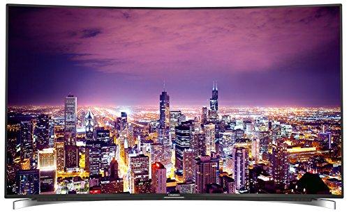Grundig FLX 9590 BP - Televisor curvado (139 cm (55 pulgadas) (Ultra HD, sintonizador triple, 3D, Smart TV)