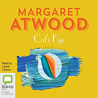 Cat's Eye                   By:                                                                                                                                 Margaret Atwood                               Narrated by:                                                                                                                                 Laurel Lefkow                      Length: 15 hrs and 17 mins     120 ratings     Overall 4.2