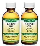 De La Cruz Pure Olive Oil, Non-GMO, Bottled in USA, 2 FL OZ (2...