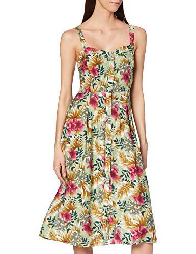 Joe Browns Damen Fancy Free Dress Lssiges Kleid, A-grün, 36