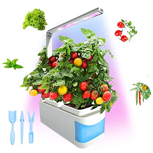 Smart idroponici Herb Garden Lights, Suitable for All Plants, Kit Mini Growing Plant LED Light, AS Desk Lamp for your Reading Fairy Lights (Seeds Not Included)