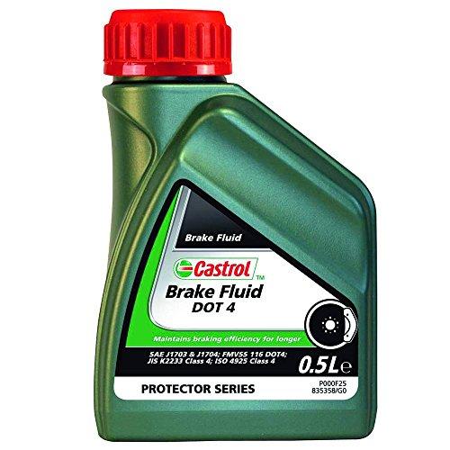 Castrol Brake Fluid Dot 4, 0.5L
