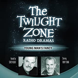 Young Man's Fancy     The Twilight Zone Radio Dramas              By:                                                                                                                                 Richard Matheson                               Narrated by:                                                                                                                                 Stacy Keach,                                                                                        various performers                      Length: 36 mins     15 ratings     Overall 4.4