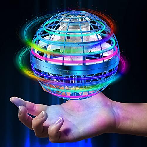 Flying Ball Toys【2021 Upgraded】Globe Shape Magic Controller Mini...