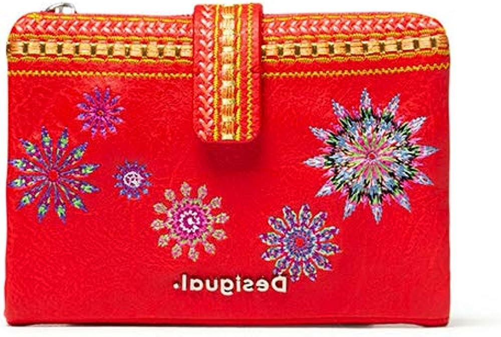 Desigual mini portafoglio rosso in pelle sintetica 20SAYP563092U