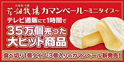 花畑牧場 カマンベールプレーン〜ミニタイプ〜 10個入り【冷蔵配送】