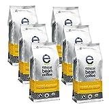 Ethical Bean Coffee Sweet Espresso: Medium Dark Roast Bulk Whole Bean- USDA Certified Organic Coffee, Fair Trade Certified - 12 ounce bag (6 pack)