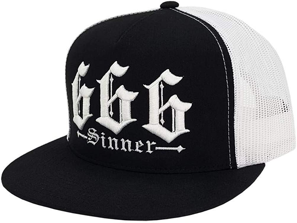 RED DEVIL CLOTHING Spring OFFicial site new work one after another 666 Trucker