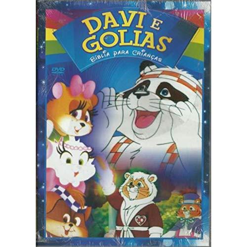 DVD Davi e Golias - Bíblia Para Crianças