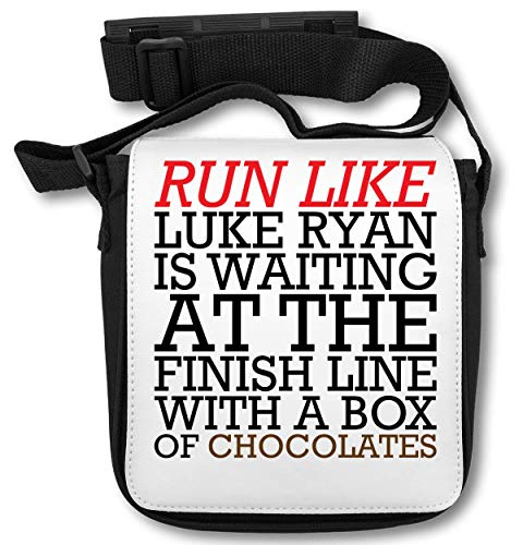 Run Like Luke Ryan is Waiting at The Finish Line A Box of Chocolates Schultertasche