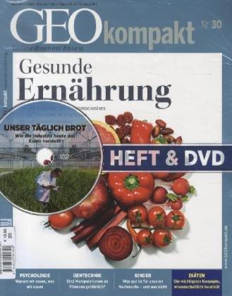 Geo Kompakt 30/2012: Gesunde Ernährung (Heft + DVD)