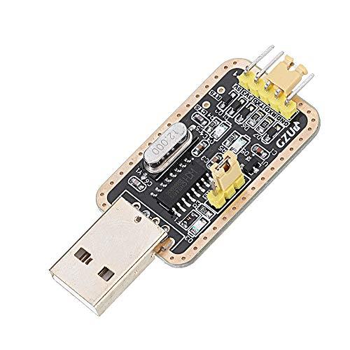 Módulo electrónico Actualizar USB a TTL Auto Converter Adapter STC Cepillo Módulo CH340G RS232 Equipo electrónico de alta precisión
