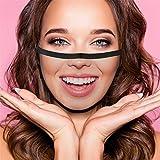AmyGline Lustige Mundschutz Bandanas mit 3D Motiv Waschbar Mund-Nasen-Schutz Wiederverwendbare Staubdicht Atmungsaktiv Multifunktionstuch Halstuch (One Size, A041)