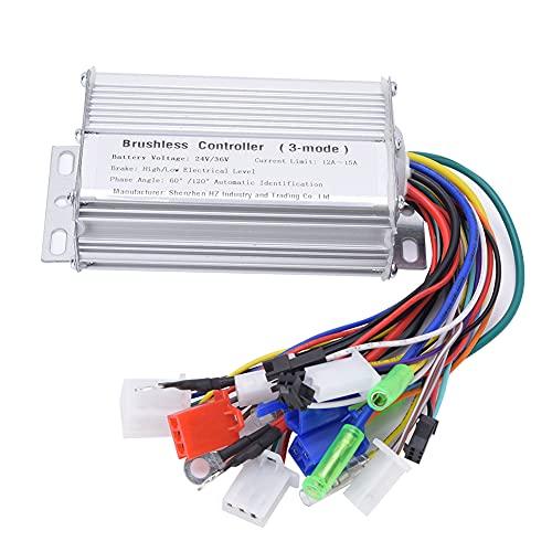 Weikeya Inteligente Motor Controlador, Conducir Controlador Tablero Puerta Cerrar con Llave Alarma Señal Poder Cable con Metal por Eléctrico Scooter
