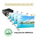 IMG-3 mini proiettore portatile artlii lcd