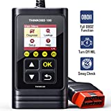 THINKOBD100 OBD2 Scanner Code Reader with Full OBD2 Functions, Read & Clear DTCs for MIL Turn-Off, O2 Sensor and Smog Check – Car Owners' Choice