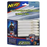 Official Nerf N-Strike Elite Series 12 Glow Dart Refill Pack