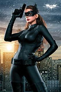 BEYONDTHEWALL Archive Batman Dark Knight Rises Catwoman (Anne Hathaway) Superhero Action Movie Film Print (24x36 Unframed ...