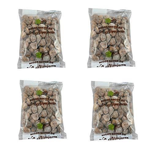 Getrocknete Feigen aus Spanien - 100 % natürlich - Sonnengetrocknet - handverlesen - Superfood - Glutenfrei und Vegan - 4 x 500 g Packungen - 2,0 Kg