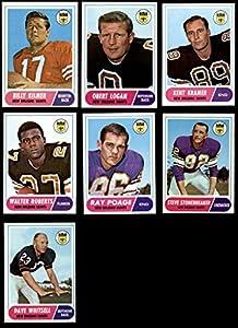 1968 Topps New Orleans Saints Team Set New Orleans Saints (Set) NM Saints