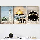 VUSMH Islamische Kultur Wandbilder Jerusalem Landschaft