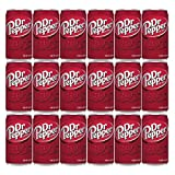 Dr Pepper Soda Mini Cans, 7.5oz Cans (18-Pack)