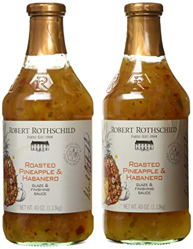 Robert Rothschild Farm Roasted Pineapple & Habanero Glaze & Finish Sauce 2 Pack