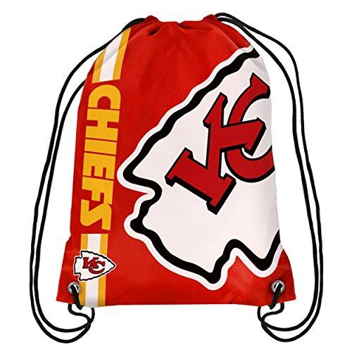 NFL Kansas City Chiefs Big Logo Drawstring Backpack
