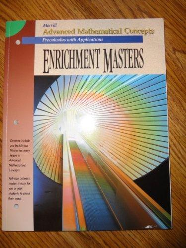 Enrichment Masters (Merrill Advanced Mathematical Concepts: Precalculus)