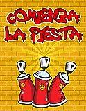 Comienza La Fiesta: Un gran cuaderno de bocetos cuadrado para artistas de graffiti y amantes del arte callejero, con 110 páginas en blanco para ... urbanas, diseños de palabras de graffiti