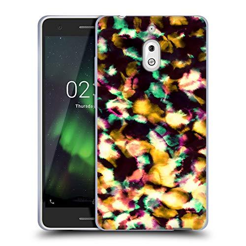 Head Case Designs Offizielle Amy Sia Orange EIS Soft Gel Huelle kompatibel mit Nokia 2.1